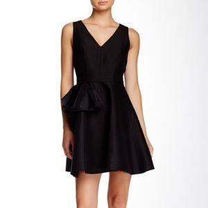 Halston Heritage 6 Black Sleeveless Cocktail Dress